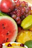 Frische verschiedene Früchte Lizenzfreie Stockfotos