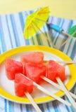 Frische Wassermelone Lizenzfreie Stockbilder