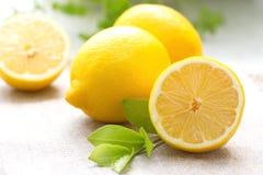 Frische Zitrone Lizenzfreies Stockfoto