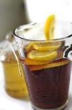 Frische Zitrone tea2 Lizenzfreie Stockfotos