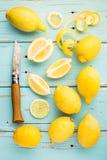 Frische Zitronen Lizenzfreies Stockfoto
