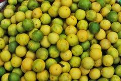 Frische Zitronenkalke Stockbild