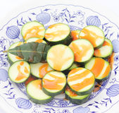 Frische Zucchini Stockfotos