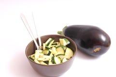 Frische Zucchini Stockfoto