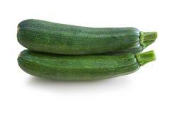 Frische Zucchini des Baums lokalisiert Lizenzfreie Stockbilder