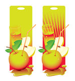 Frischer Apfel Vektor Abbildung