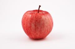 Frischer Apfel getrennt auf weißem Hintergrund Lizenzfreie Stockfotos