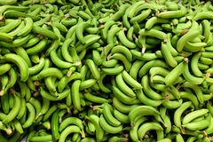 frischer ausgewählter Bananenstapel Lizenzfreies Stockbild