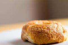 Frischer Bagel Asiagos u. der Cheddar-Käse-Bäckerei Lizenzfreies Stockbild
