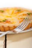 Frischer Birnentorten-Nachtischkuchen Lizenzfreie Stockfotografie
