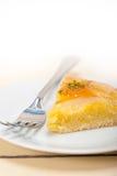 Frischer Birnentorten-Nachtischkuchen Stockfotografie