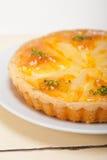 Frischer Birnentorten-Nachtischkuchen Lizenzfreies Stockbild