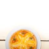 Frischer Birnentorten-Nachtischkuchen Stockbilder