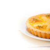 Frischer Birnentorten-Nachtischkuchen Lizenzfreie Stockbilder