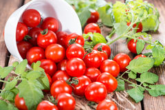 Frischer Cherry Tomatoes Stockfotografie
