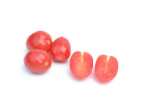 Frischer Cherry Tomatoes Stockfotos