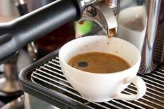Frischer Espressokaffee Lizenzfreie Stockfotografie