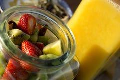 Frischer Fruchtsalat Stockfotografie