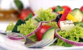 Frischer Gartensalat Stockfoto