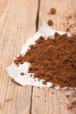 Frischer gemahlener Kaffee Lizenzfreie Stockfotografie