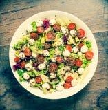 Frischer gesunder Salat stockfoto
