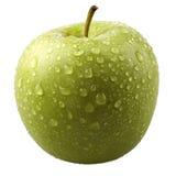 Frischer grüner Apfel Stockbilder