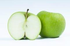 Frischer grüner Apfel Stockfoto