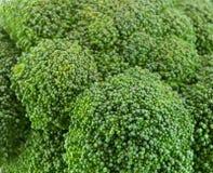 Frischer grüner Brokkoli Stockfoto