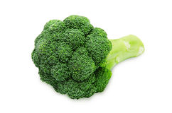 Frischer grüner Brokkoli Stockfotos