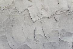 Frischer grauer Beton auf Baustelle Stockfotos