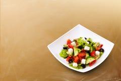 Frischer griechischer Salat Stockbilder