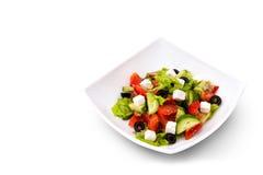 Frischer griechischer Salat Lizenzfreie Stockfotografie