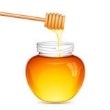 Frischer Honig lizenzfreie abbildung