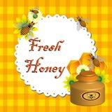 Frischer Honig Lizenzfreie Stockfotos