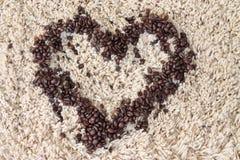 Frischer Kaffee Stockfoto