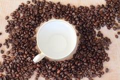Frischer Kaffee Lizenzfreie Stockbilder