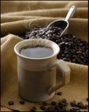 Frischer Kaffee Lizenzfreies Stockbild
