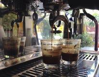 frischer Kaffee für frisches Ihr neuer Tag Stockbild