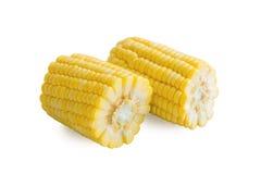 Frischer Mais auf Weiß Lizenzfreies Stockbild