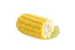 Frischer Mais auf Weiß Lizenzfreie Stockfotos