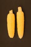 Frischer Mais mit Pfeiler Lizenzfreie Stockfotografie