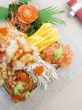 Frischer Mischungs-Salat Lizenzfreies Stockfoto