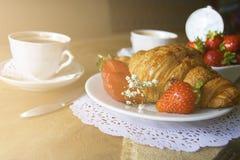 Frischer Morgen-Kaffee lizenzfreies stockfoto