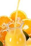 Frischer Orangensaft Lizenzfreie Stockfotos