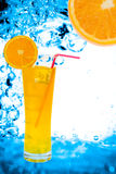 Frischer Orangensaft Stockbilder