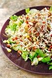 Frischer organischer Salat Lizenzfreies Stockfoto