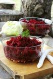 Frischer Rote-Bete-Wurzeln Salat Lizenzfreie Stockfotografie