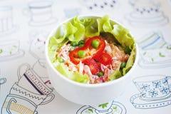 Frischer Salat. Stockfoto