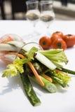 Frischer Salat Stockfoto