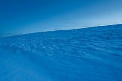 Frischer Schnee Stockfoto